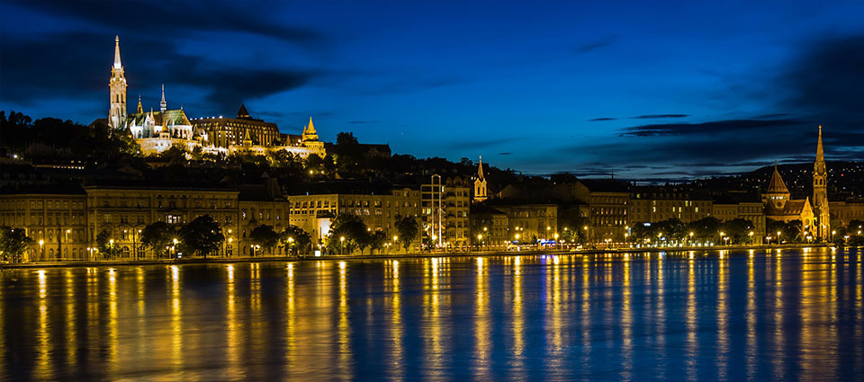 Budapest Night Time