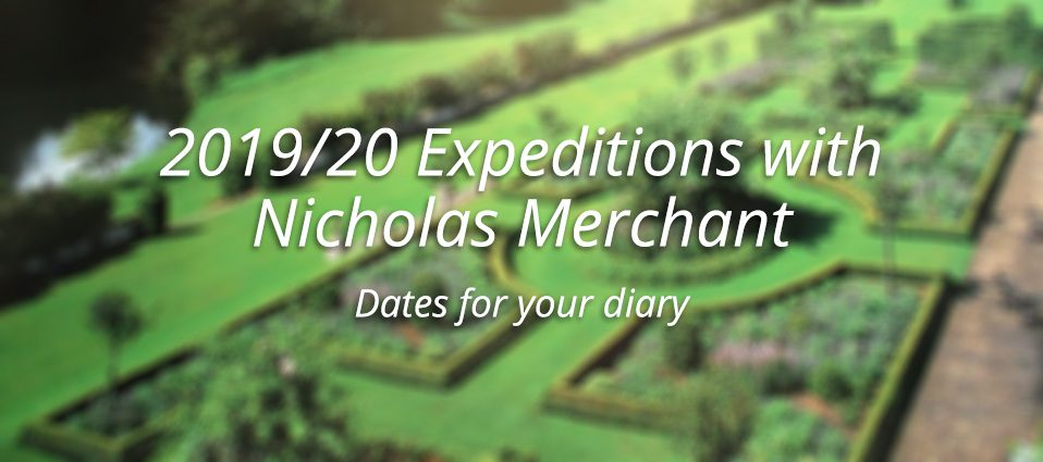 2019/20 Expeditions With Nicholas Merchant
