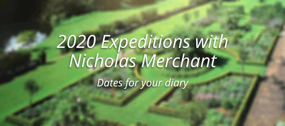 2020 Expeditions With Nicholas Merchant
